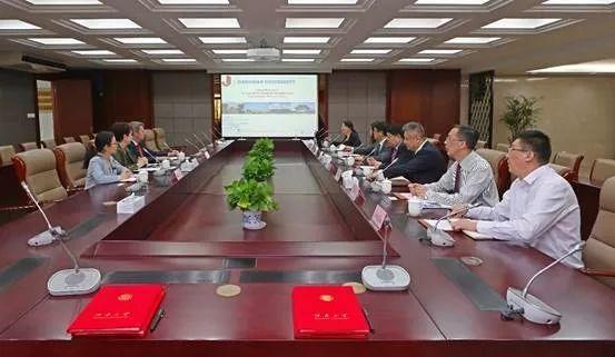 梅西大学-江南大学食品科学与工程合作办学签字仪式在江南大学举行