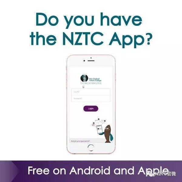 NZTC Days   二月新生报到会,入学要求更新,NZTC App